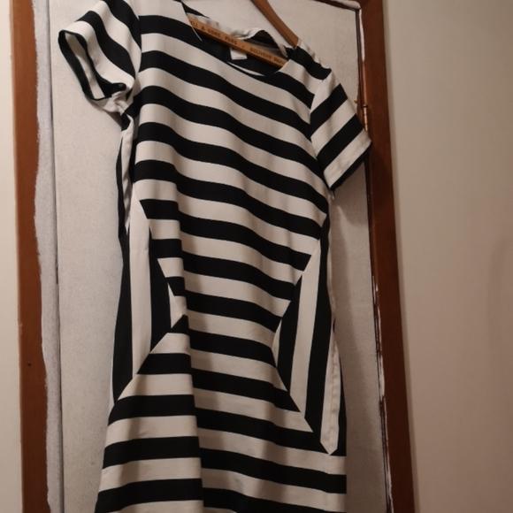 Vero Moda striped shift dress